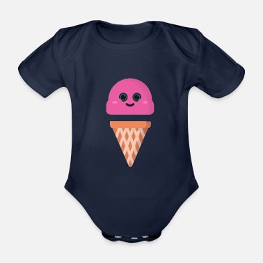 2020 Trends - Organic Short-Sleeved Baby Bodysuit