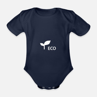 Eco eco - Organic Short-sleeved Baby Bodysuit