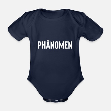 Phenomenon phenomenon - Organic Short-Sleeved Baby Bodysuit