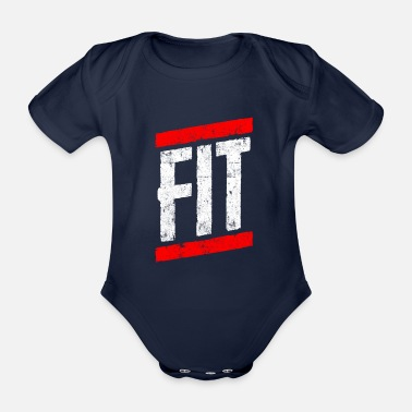 Fitness Fitness fit - Organic Short-Sleeved Baby Bodysuit