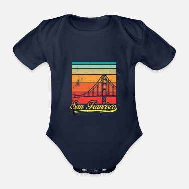 Hollywood San Francisco - Organic Short-Sleeved Baby Bodysuit