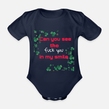 Can you see - Baby Bio Kurzarmbody