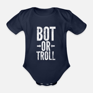 Alls Well Botlane Or Troll LOL Gamer Esports Gift - Organic Short-Sleeved Baby Bodysuit