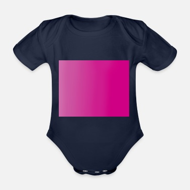 Colours colour - Organic Short-Sleeved Baby Bodysuit
