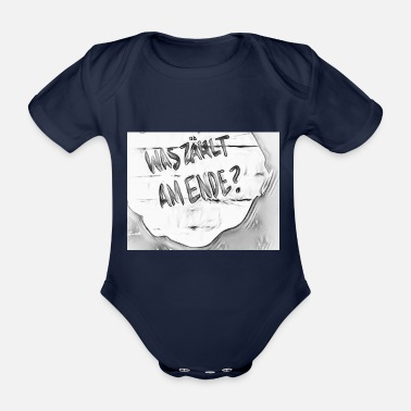 What counts in the end - Organic Short-Sleeved Baby Bodysuit