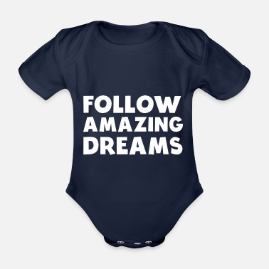 fitness motivation workout statement shirt - Organic Short-Sleeved Baby Bodysuit
