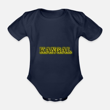 Kangal dog - Organic Short-Sleeved Baby Bodysuit