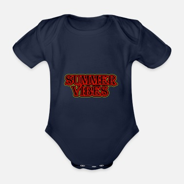 Summer Vibes - Organic Short-Sleeved Baby Bodysuit