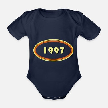 Established 1997 årgång - Ekologisk kortärmad babybody