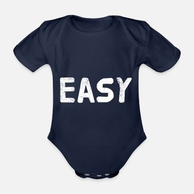 Young Easy - Organic Short-sleeved Baby Bodysuit