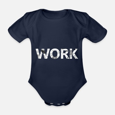 Worker WORK - Baby Bio Kurzarmbody