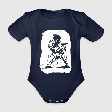 mafia - Organic Short-sleeved Baby Bodysuit