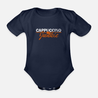 Cappuccino Great cappuccino lovers gift - Organic Short-Sleeved Baby Bodysuit
