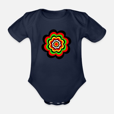 Right Not Right - Organic Short-sleeved Baby Bodysuit