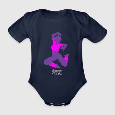 Cult dance your life - Organic Short-sleeved Baby Bodysuit