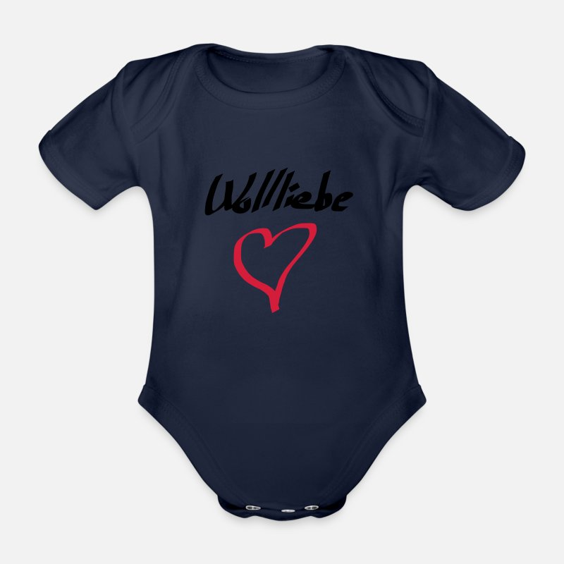 Wolliebe Nähen Häkeln Stricken Baby Kurzarmbody Spreadshirt