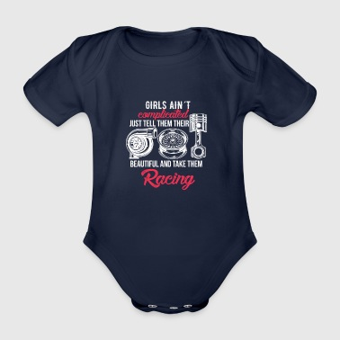 Girls aren't complicated - Organic Short-sleeved Baby Bodysuit