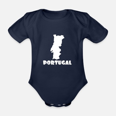 Portugal Portugal - Organic Short-sleeved Baby Bodysuit