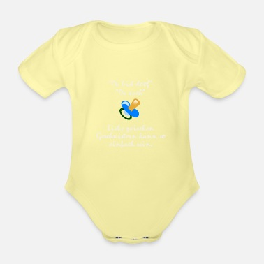 Siblings Siblings love - Organic Short-Sleeved Baby Bodysuit