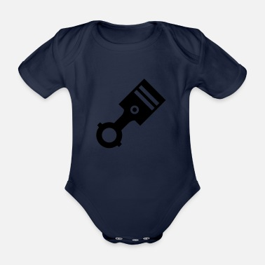 Piston Piston - Organic Short-Sleeved Baby Bodysuit