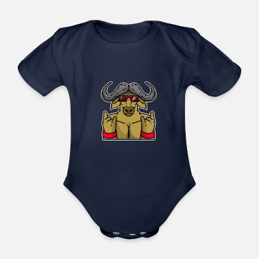 Zodiac ox - Organic Short-Sleeved Baby Bodysuit