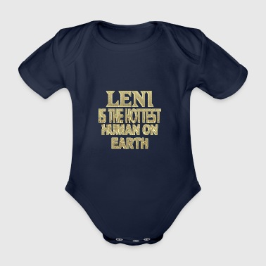 Leni - Organic Short-sleeved Baby Bodysuit