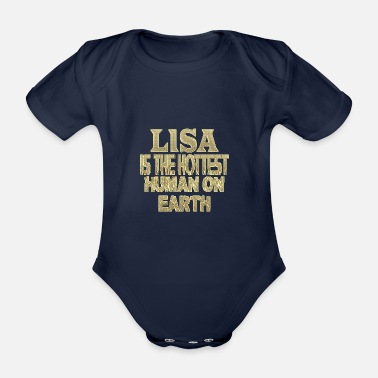 Lisa Lisa - Organic Short-sleeved Baby Bodysuit