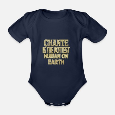Chant Chante - Organic Short-Sleeved Baby Bodysuit
