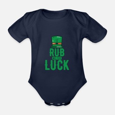 Luck luck - Organic Short-Sleeved Baby Bodysuit
