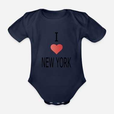 York I love New York - Baby Bio Kurzarmbody