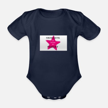 Infallible unique, impressive - Organic Short-Sleeved Baby Bodysuit