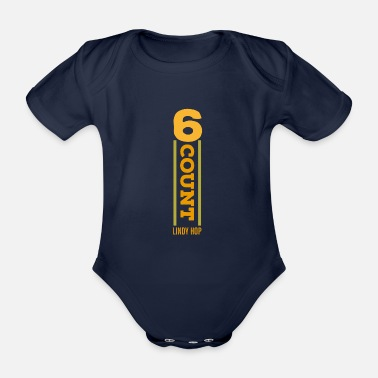 Count 6-Count - Organic Short-Sleeved Baby Bodysuit