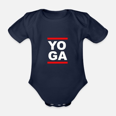 Yoga Gift Yogi Retro Old School - Body neonato a manica corta