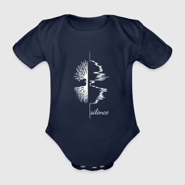 Silence knows - Organic Short-sleeved Baby Bodysuit