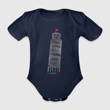 Pisa - Organic Short-sleeved Baby Bodysuit