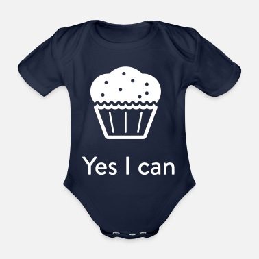 Yes We Cannabis Yes I can - Baby Bio Kurzarmbody