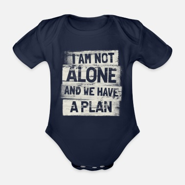 A plan - Organic Short-Sleeved Baby Bodysuit