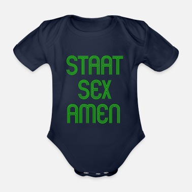 State Exam State Exam Nurse Training Gift - Organic Short-Sleeved Baby Bodysuit