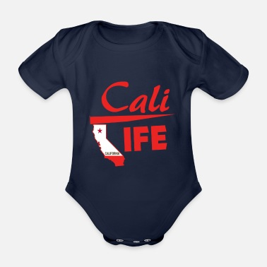 Californie Californie - Californie - Body bébé bio manches courtes