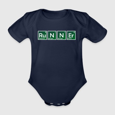 Periodic Table Elements of Runner Element Chemistry Periodic Table - Organic Short-sleeved Baby Bodysuit