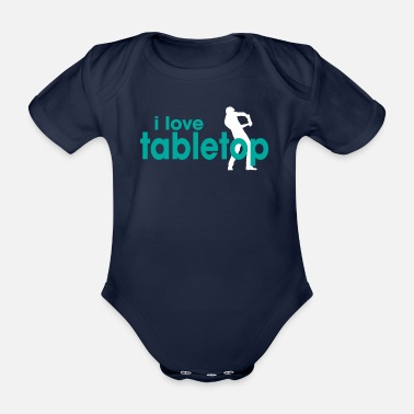 Parade I Love Tabletop - Baby Bio-Kurzarm-Body
