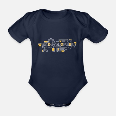 Web Developer Web developer - Organic Short-Sleeved Baby Bodysuit