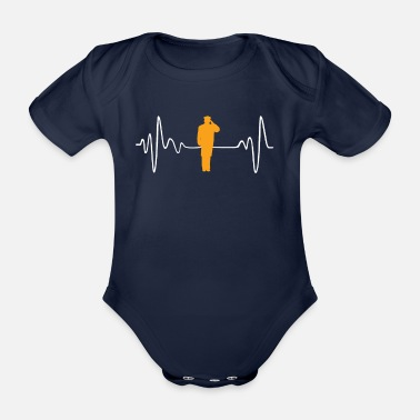 Driver Driver - Organic Short-Sleeved Baby Bodysuit