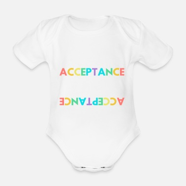 Acceptance Empowers - Organic Short-Sleeved Baby Bodysuit