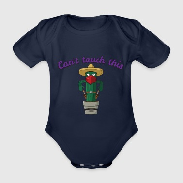 Can't Touch This Gift - Organic Short-sleeved Baby Bodysuit
