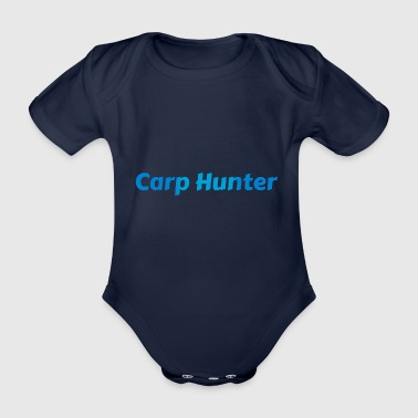 Carp Hunter carp hunter - Organic Short-sleeved Baby Bodysuit