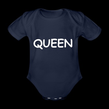 QUEEN - Organic Short-sleeved Baby Bodysuit