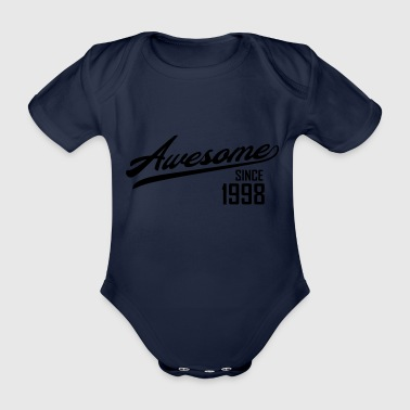 Awesome Since 1998 - Ekologisk kortärmad babybody