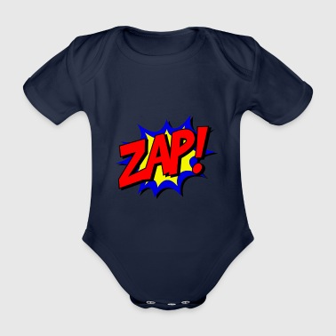 Zap Hero - Organic Short-sleeved Baby Bodysuit