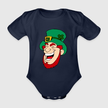 Goblin - Organic Short-sleeved Baby Bodysuit